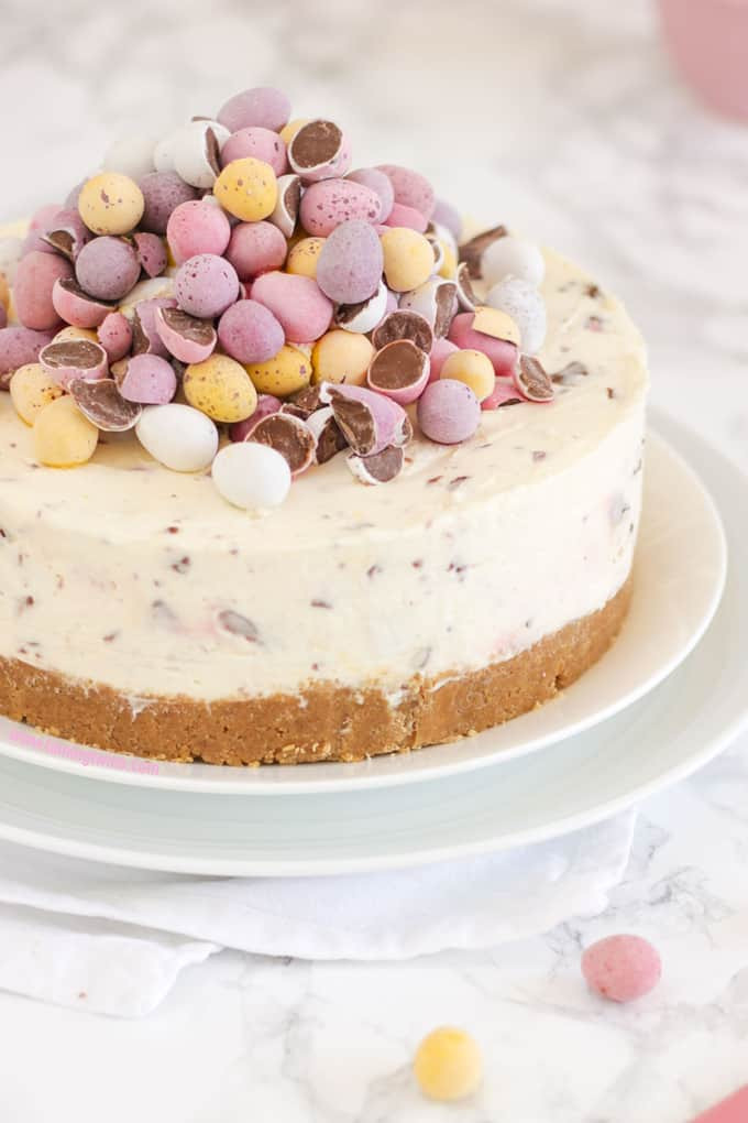 No Eggs Dessert  No Bake Mini Egg Cheesecake Recipe Taming Twins