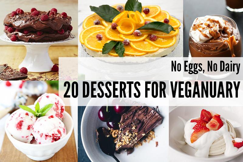 No Eggs Dessert  Wallflower Girl