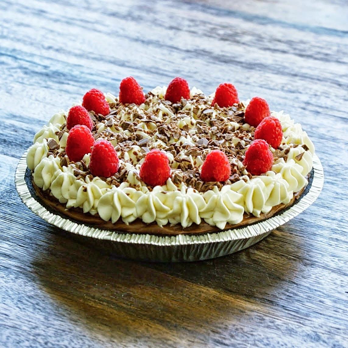 No Eggs Dessert  Art of Dessert OMG Chocolate Cream Pie No Bake & Egg Free