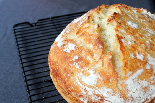 No Knead Bread Recipe  Amazing No Knead Bread Step by step recipe Frugal Living NW