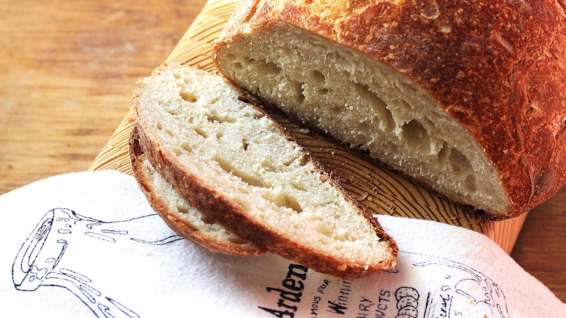 No Knead Bread Recipe  No Knead Bread Kitchen Vignettes