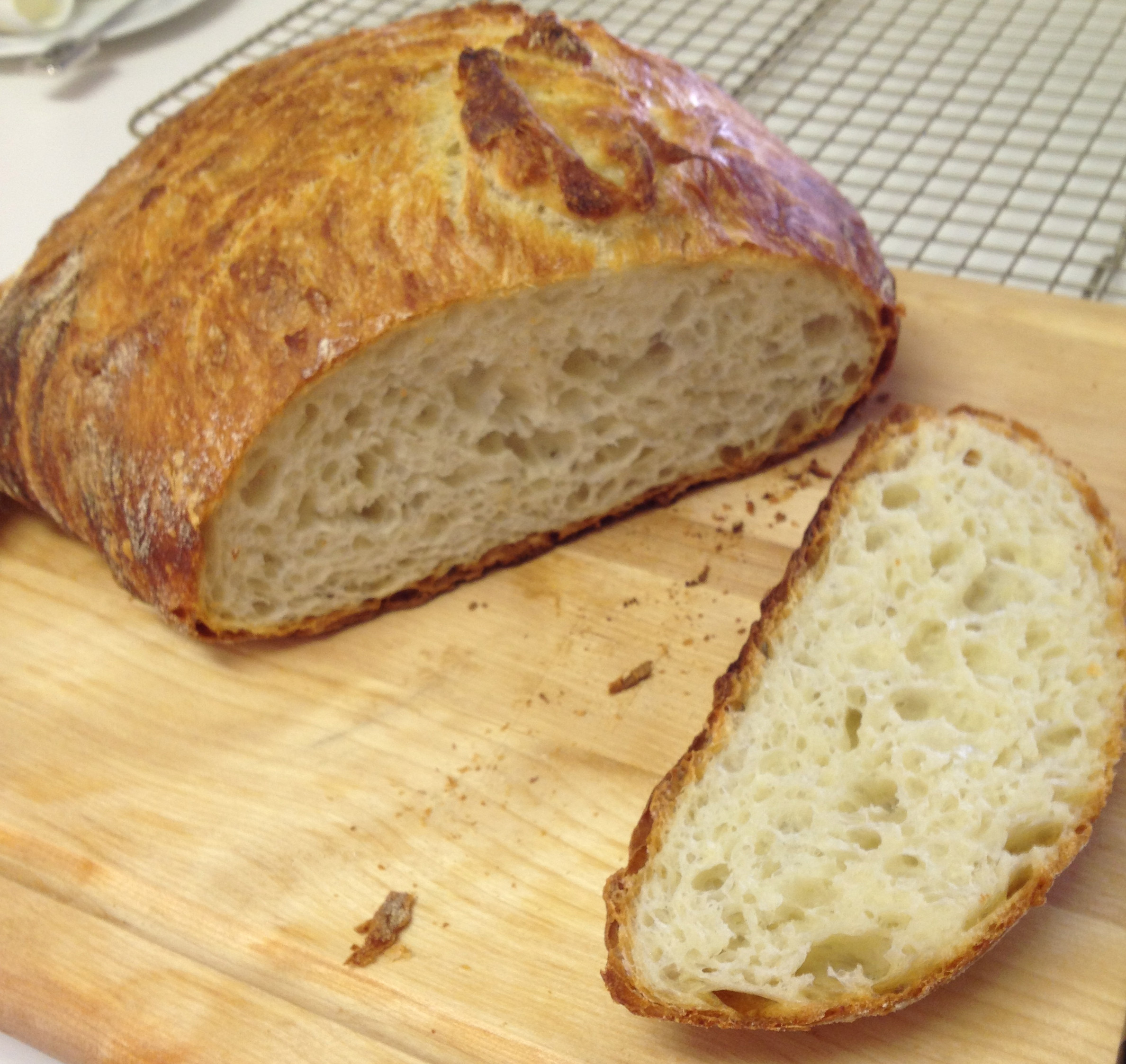No Knead Bread Recipe  No Knead Bread Chez CateyLou
