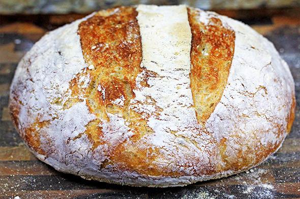 No Knead Bread Recipe  Crusty No Knead Artisan Bread