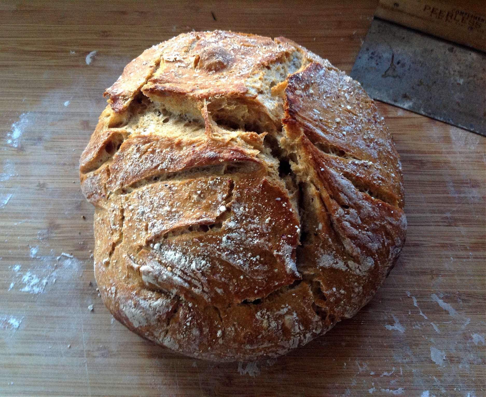 No Knead Sourdough Bread  No Knead Sourdough Bread
