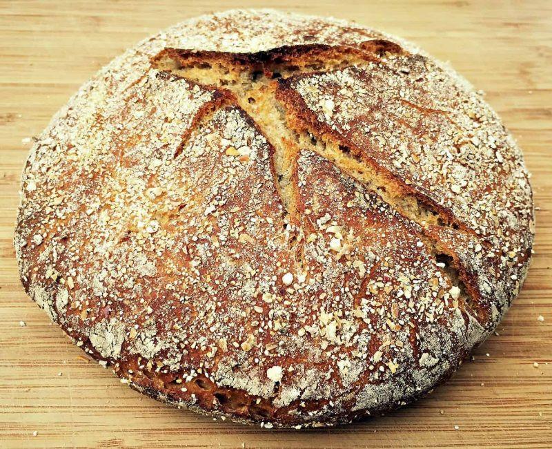 No Knead Sourdough Bread  No Knead Sourdough Rye Bread