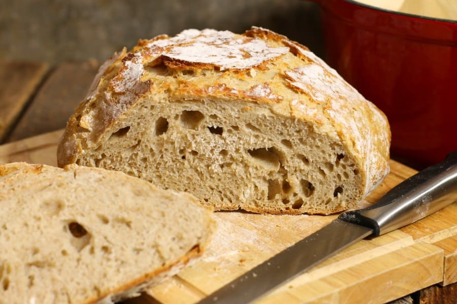 No Knead Sourdough Bread  No Knead Sourdough Bread Earth Food and Fire
