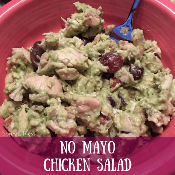 No Mayo Chicken Salad  Avocado Chicken Salad No Mayo Required & Paleo Friendly