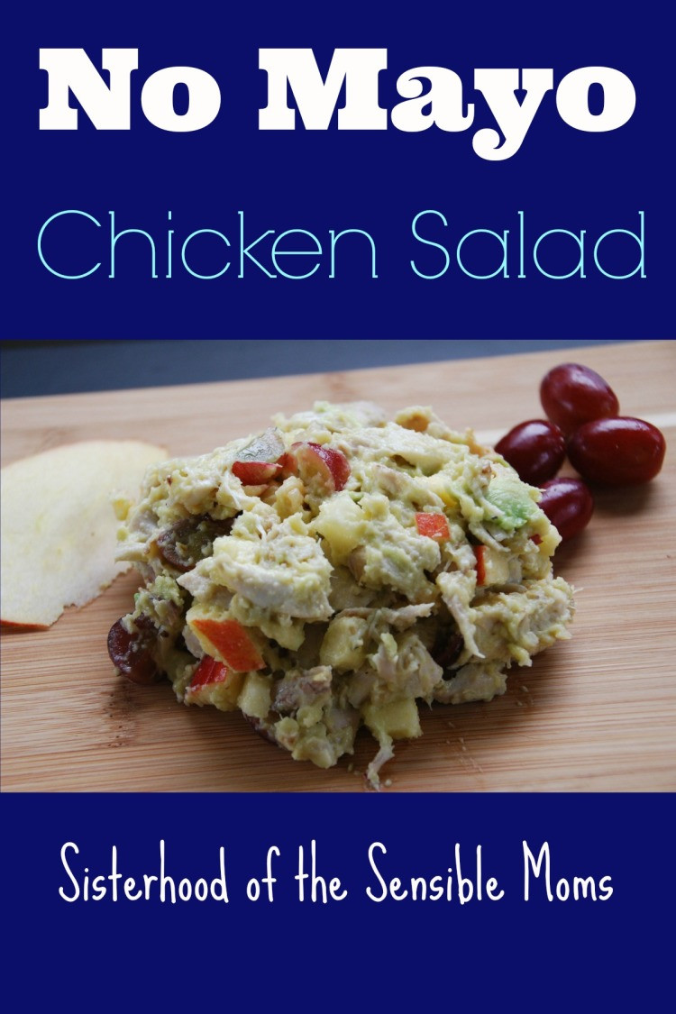 No Mayo Chicken Salad  No Mayo Chicken Salad Sisterhood of the Sensible Moms