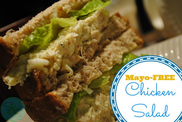 No Mayo Chicken Salad  No Mayo Chicken Salad Recipe