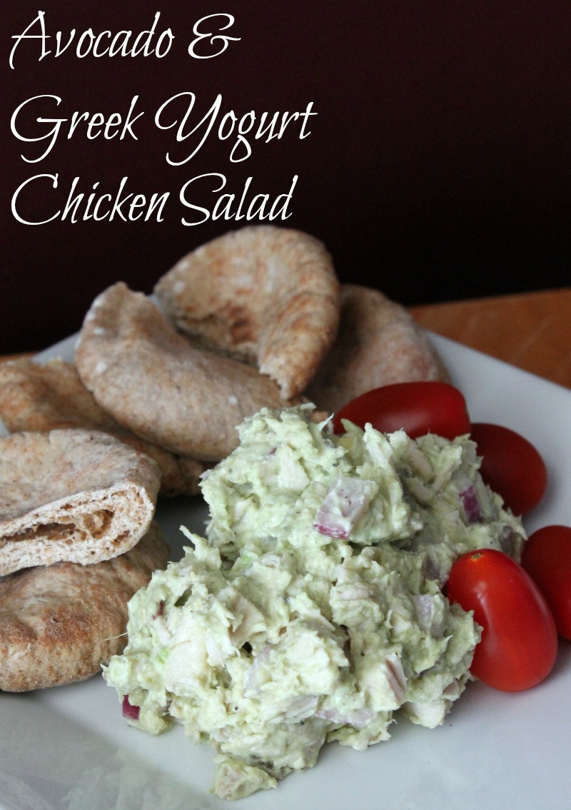No Mayo Chicken Salad  Avocado and Greek Yogurt Chicken Salad No Mayonnaise