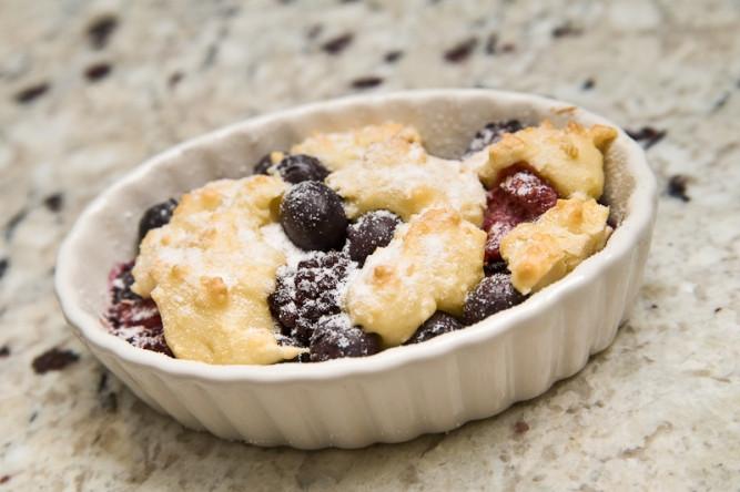 No Sugar Desserts For Diabetics  Diabetic Dessert Recipe Berry Cobbler Recipes for Diabetics