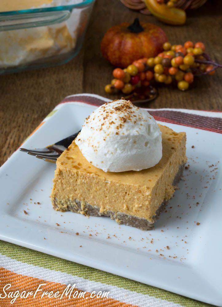 No Sugar Desserts For Diabetics  15 Sugar Free No Bake Pumpkin Recipes