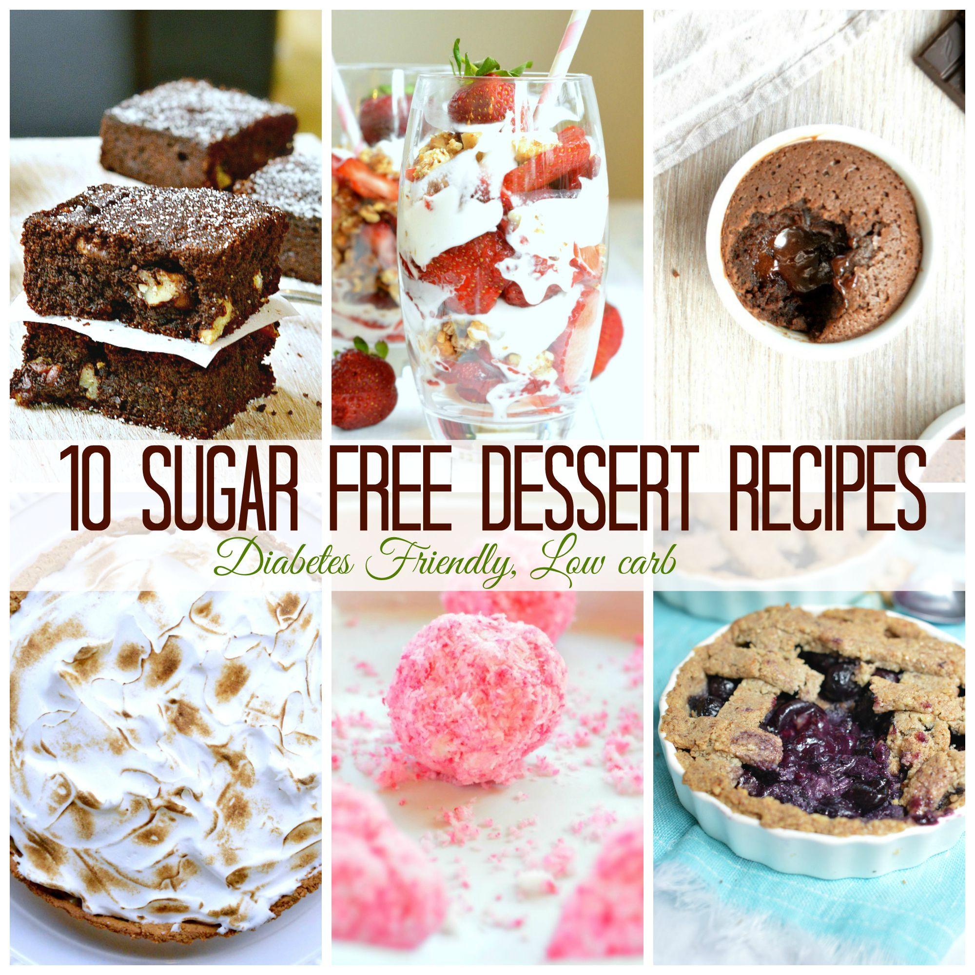 No Sugar Desserts For Diabetics  10 sugar free dessert recipes for diabetics more refined