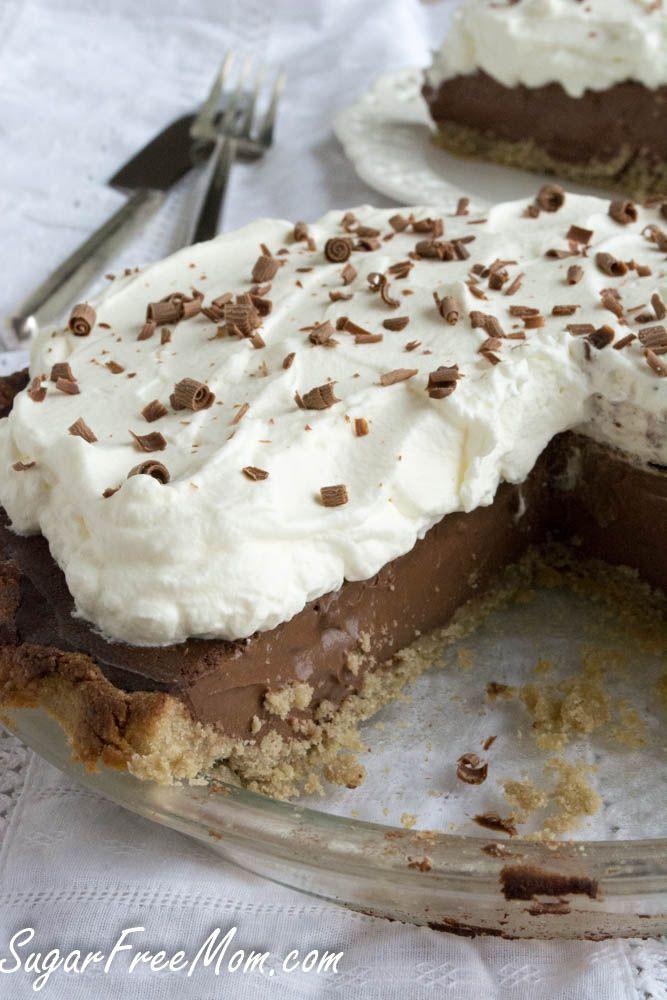 No Sugar Desserts For Diabetics  Sugar Free Chocolate Cream Pie