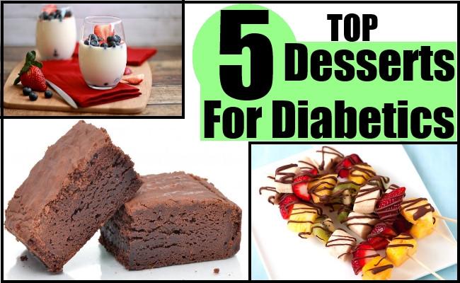 No Sugar Desserts For Diabetics  Top 5 Desserts For Diabetics Best Healthy Dessert