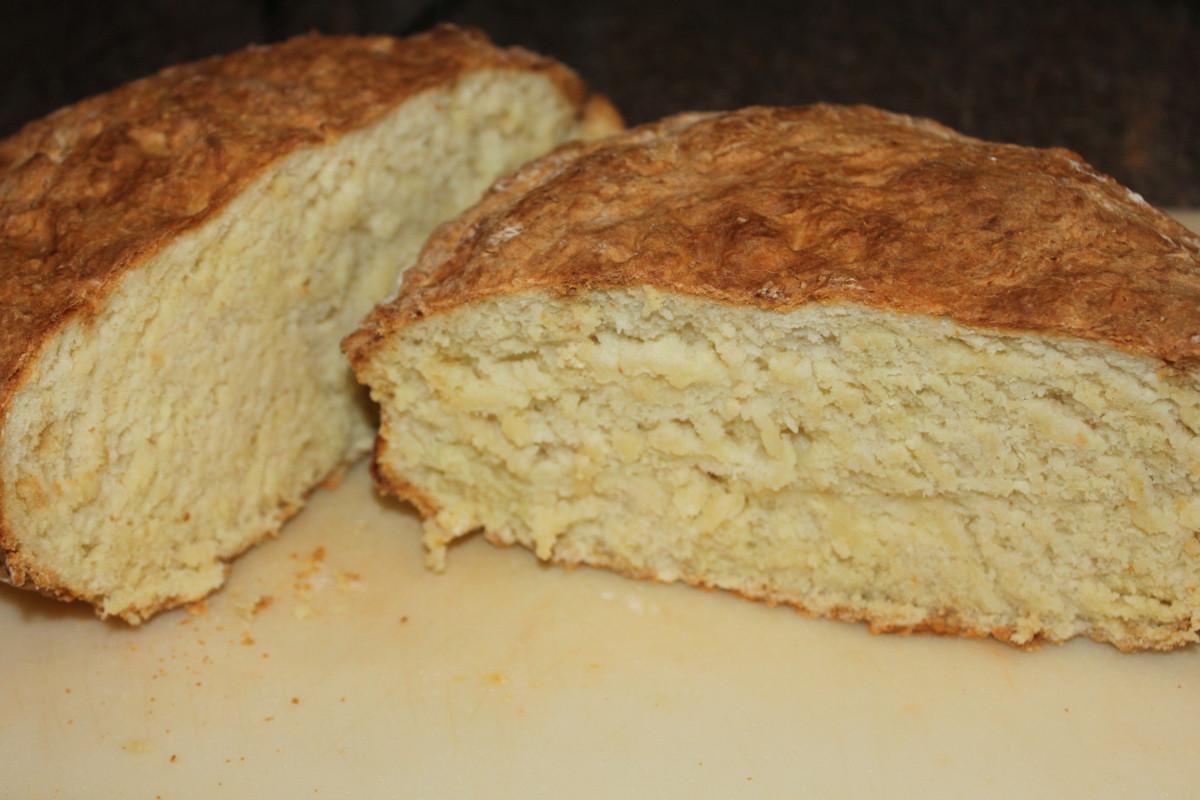 No Yeast Bread Recipe  Traditional Irish Soda Bread Recipe – No Yeast Kneading