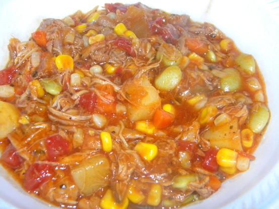 North Carolina Brunswick Stew  Brunswick Stew Georgia Style Chicken And Pork Recipe