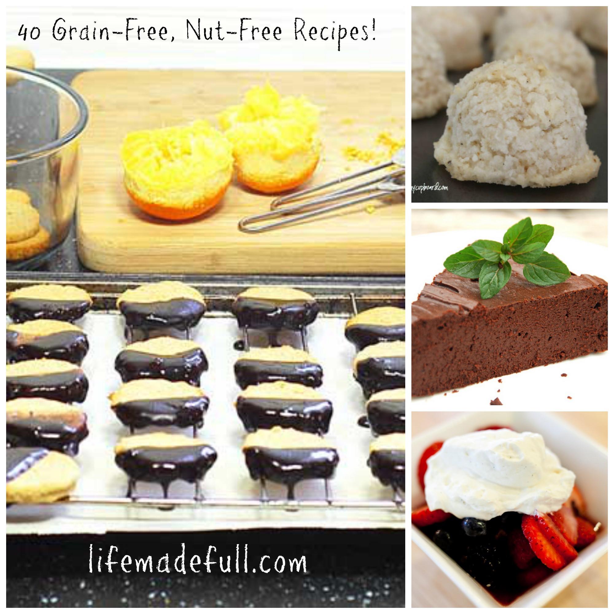 Nut Free Desserts  40 Grain Free Nut Free Desserts Life Made Full