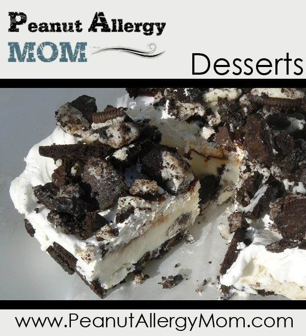 Nut Free Desserts  1000 images about Peanut and tree nut free desserts on