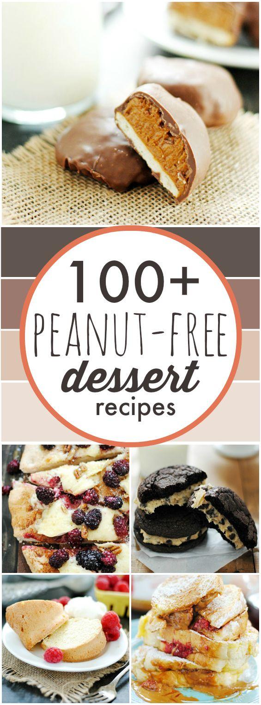 Nut Free Desserts  100 Peanut Free Desserts