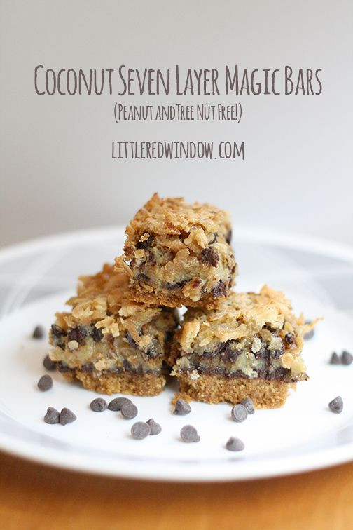 Nut Free Desserts  65 best images about Peanut and tree nut free desserts on