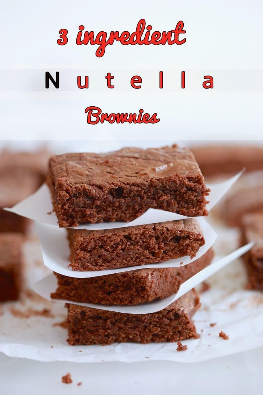 Nutella Dessert Recipes  3 Ingre nt Nutella Recipes Gemma's Bigger Bolder Baking