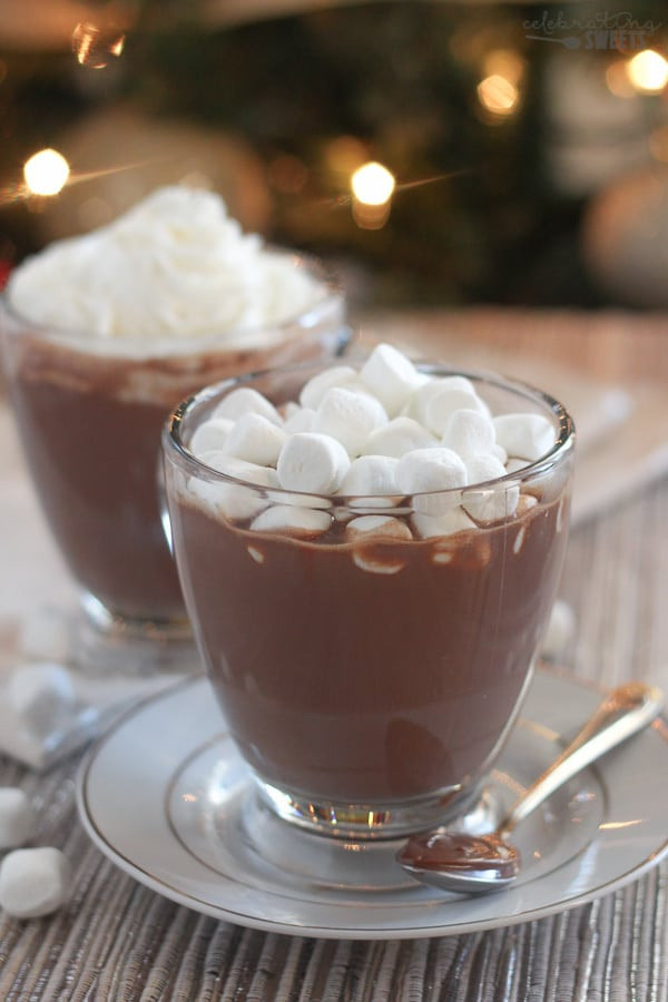 Nutella Hot Chocolate  Nutella Hot Chocolate