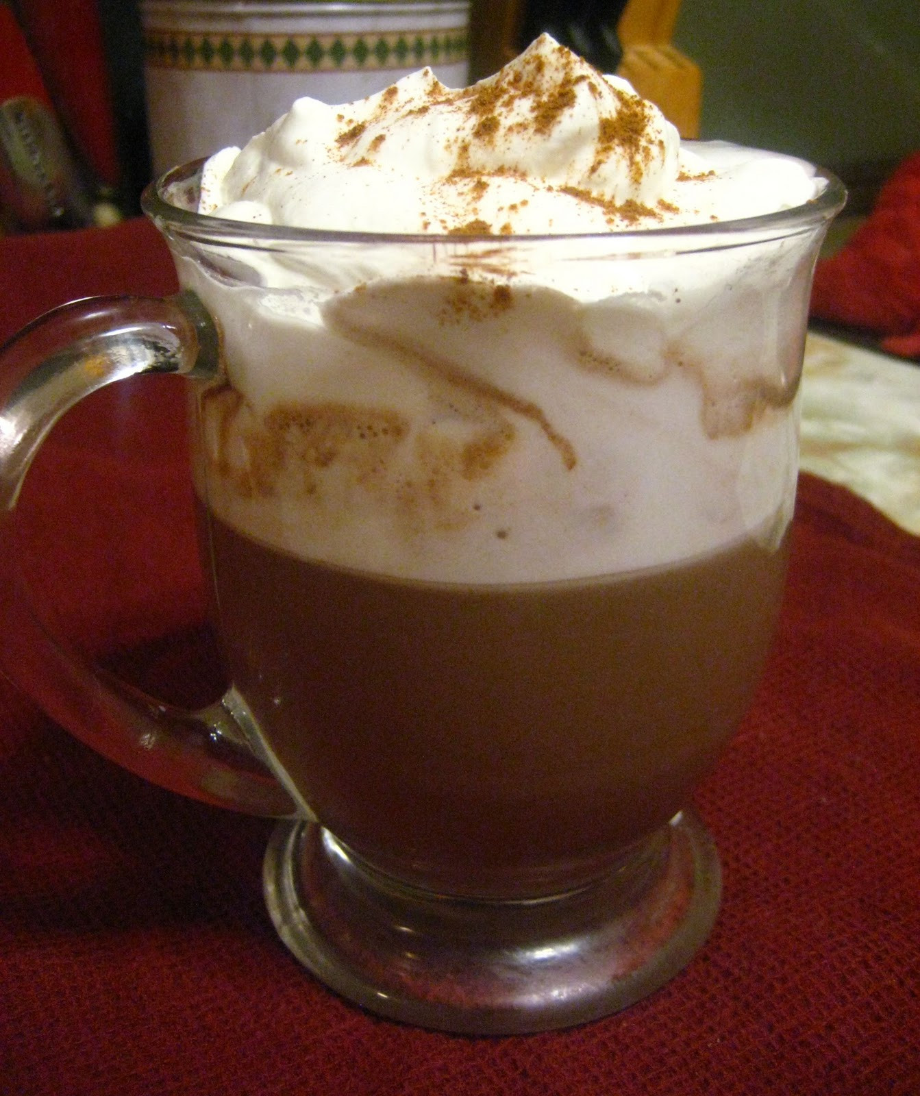 Nutella Hot Chocolate  Lovely Fluffy Mama Nutella Hot Chocolate