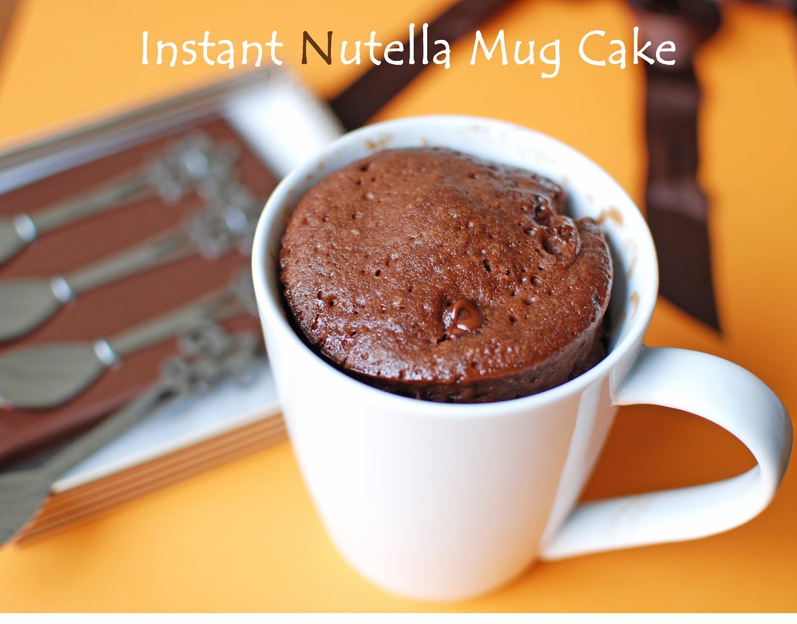 Nutella Mug Cake  11 Drool Worthy Nutella DIY Recipes Find Fun Art