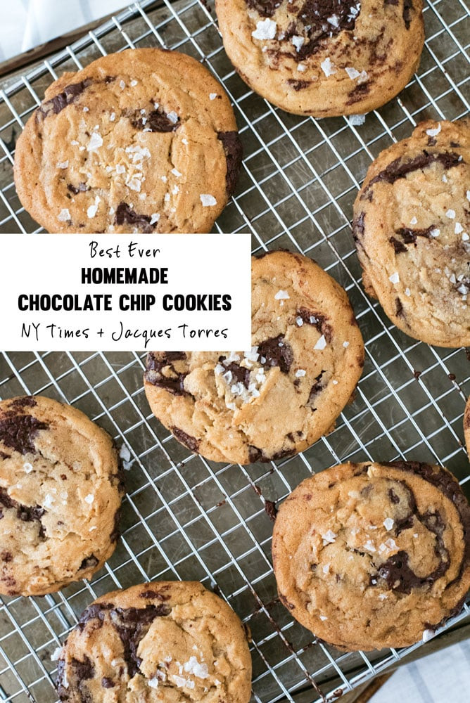 Nyt Chocolate Chip Cookies  NY Times Jacques Torres Chocolate Chip Cookies A Side