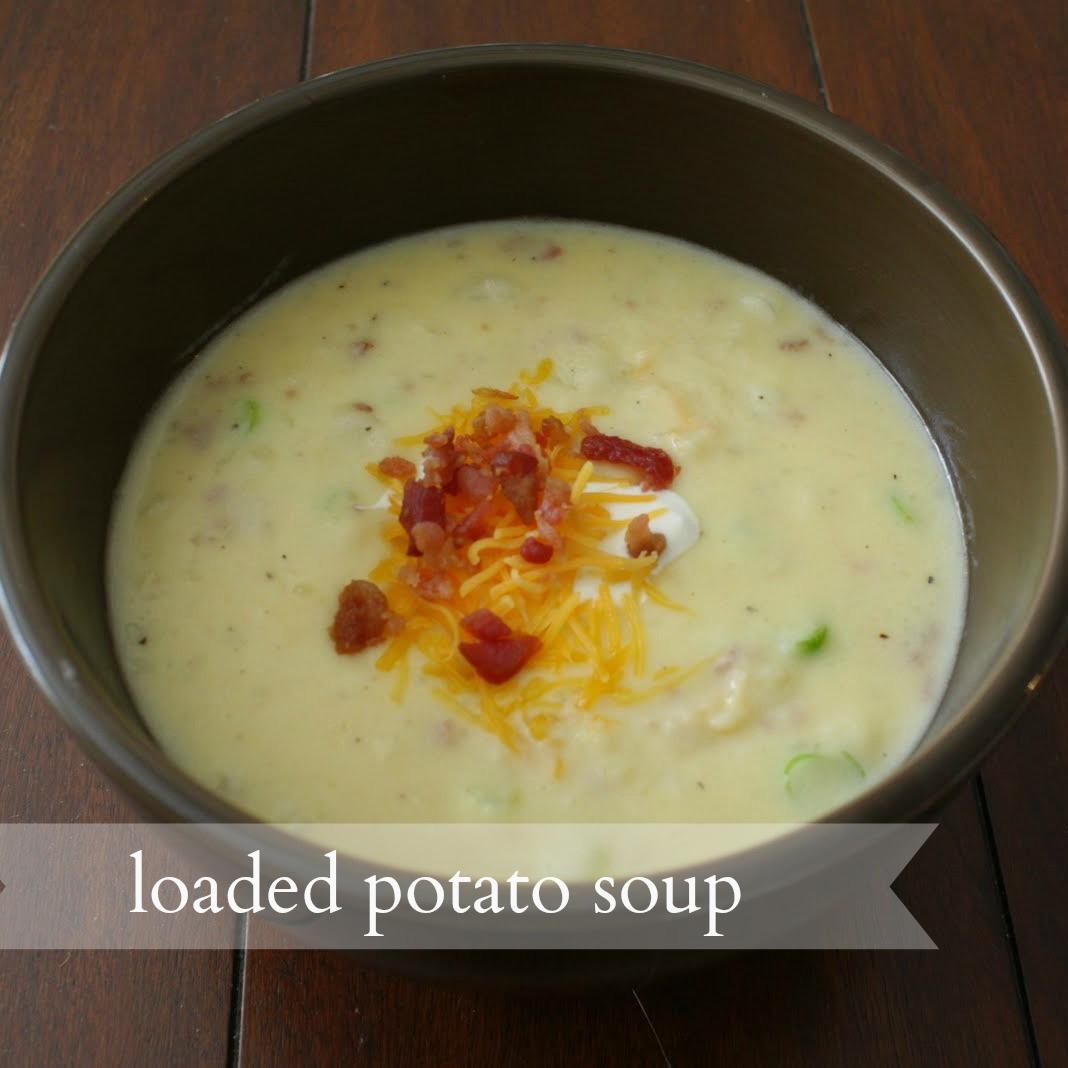 O Charley'S Loaded Potato Soup Recipe  live a little wilder loaded potato soup recipe