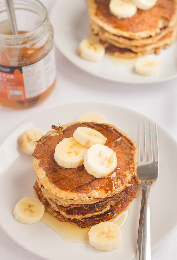 Oat Pancakes Healthy  Banana Oat Pancakes Neils Healthy Meals