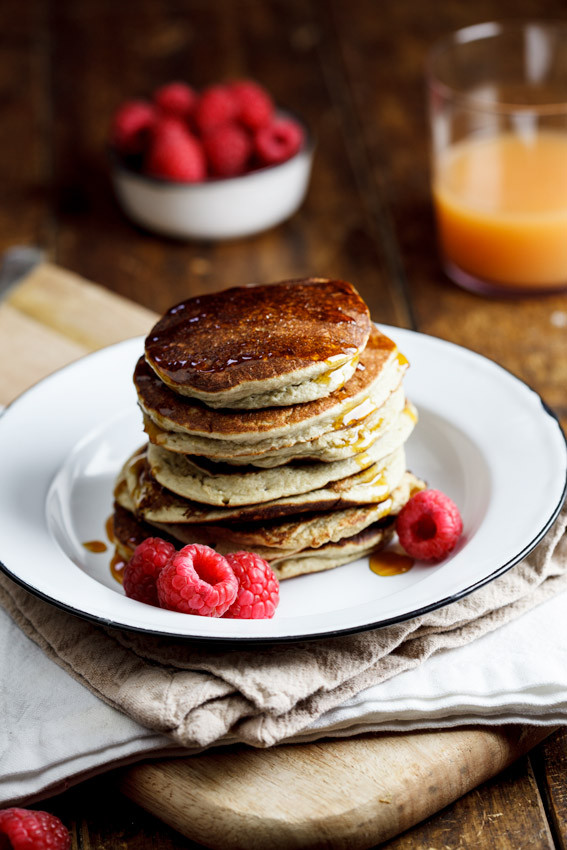 Oat Pancakes Healthy  Easy and healthy Banana Oat pancakes Simply Delicious