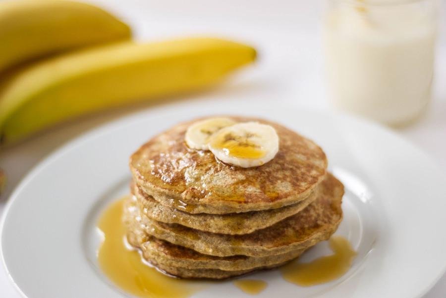 Oatmeal Banana Pancakes  Banana Oatmeal Protein Pancakes Gluten Free The