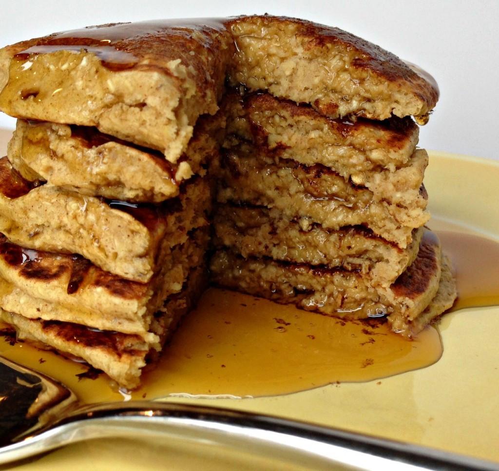 Oatmeal Banana Pancakes  Recipe Post Banana Oat Pancakes Be Whole Be You