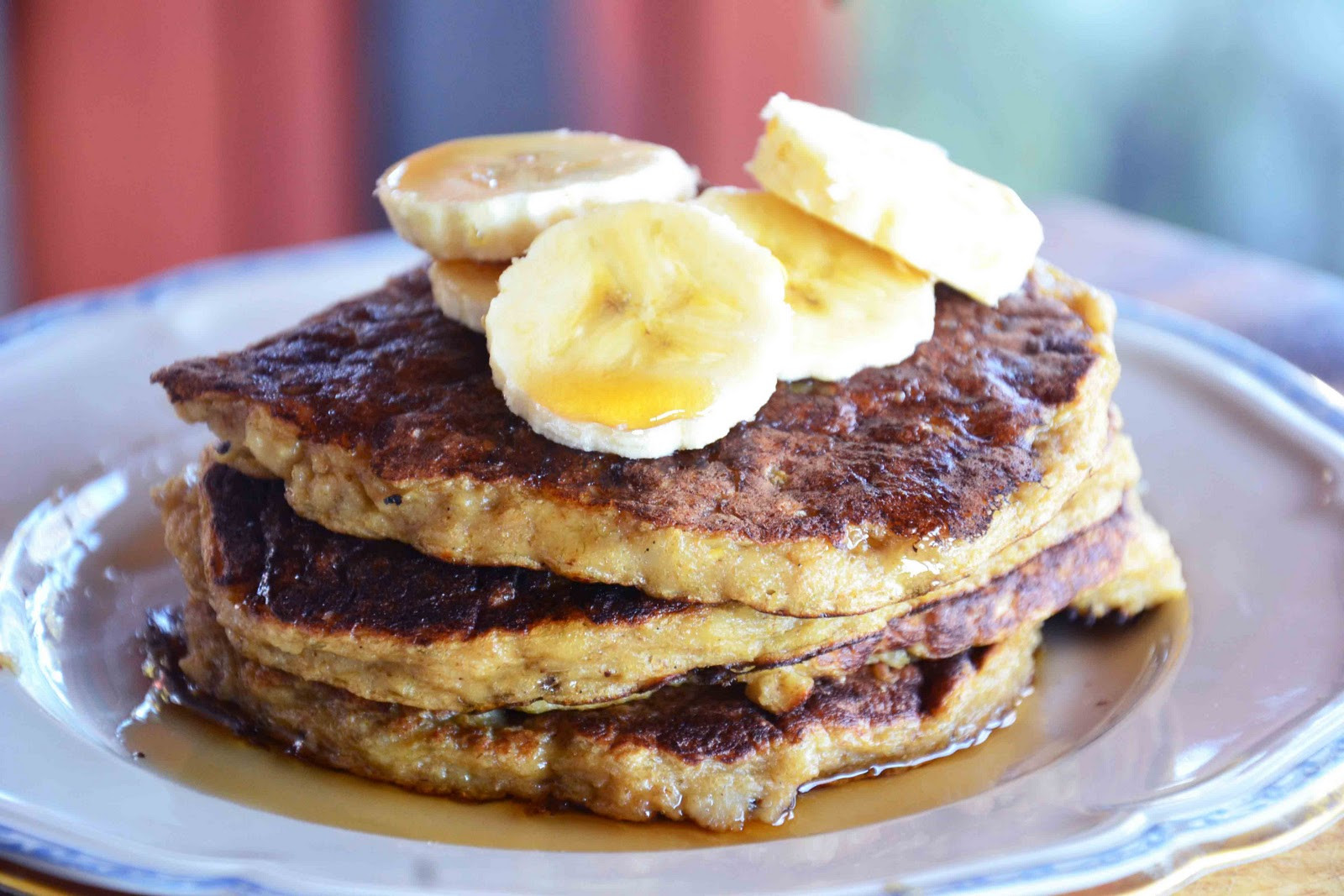 Oatmeal Banana Pancakes  The eccentric Cook Oatmeal Pancakes Oatmeal Banana Cake