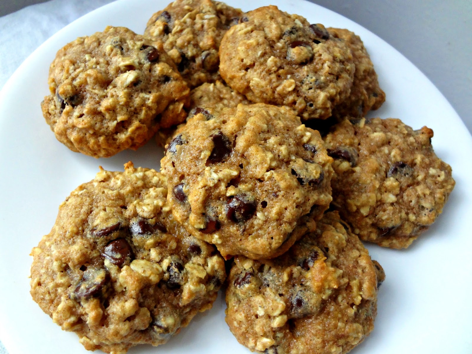 Oatmeal Chocolate Chip Cookies Healthy  The Cooking Actress Healthy Oatmeal Chocolate Chip Cookies
