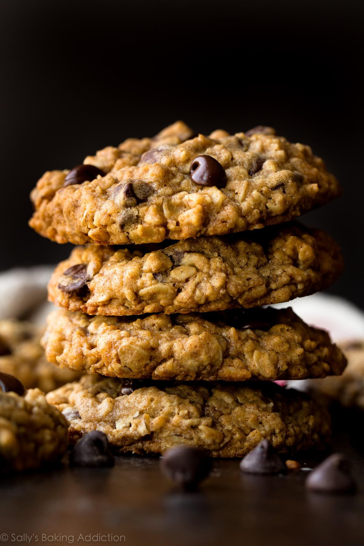 Oatmeal Chocolate Chip Cookies Healthy  easy healthy oatmeal chocolate chip cookie recipe