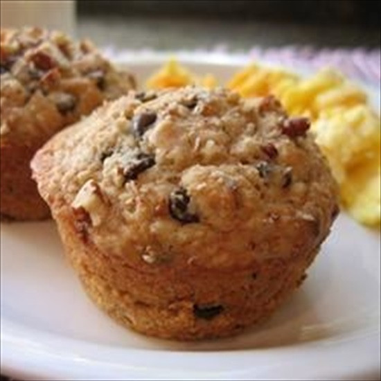 Oatmeal Chocolate Chip Muffins  The Recipe File Oatmeal Chocolate Chip Muffins