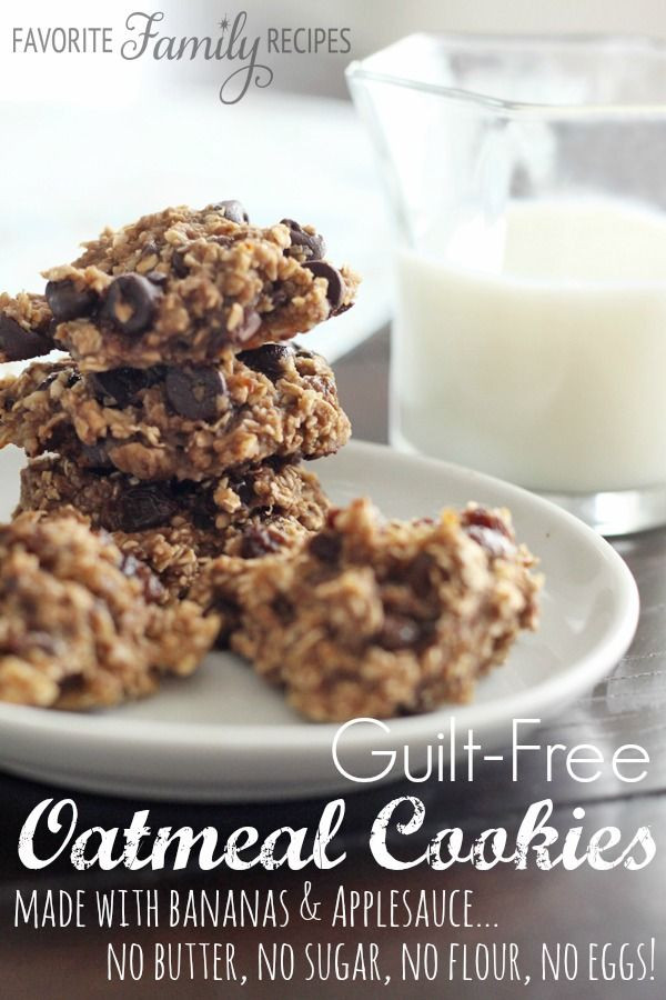 Oatmeal Cookies Without Eggs  Best 25 Oatmeal cookies without butter ideas on Pinterest