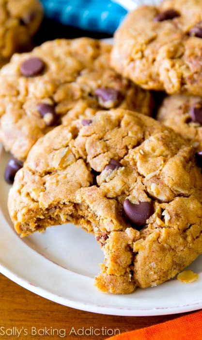 Oatmeal Cookies Without Eggs  Peanut butter oatmeal cookie recipe without eggs
