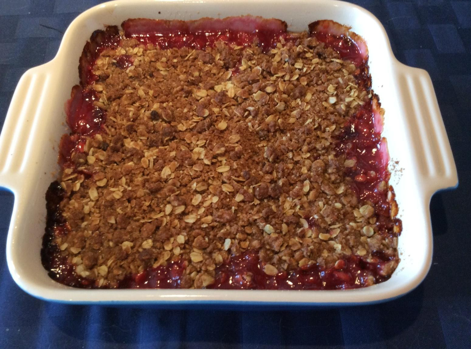 Oatmeal Dessert Recipes  Rhubarb Oatmeal Crisp Dessert Recipe