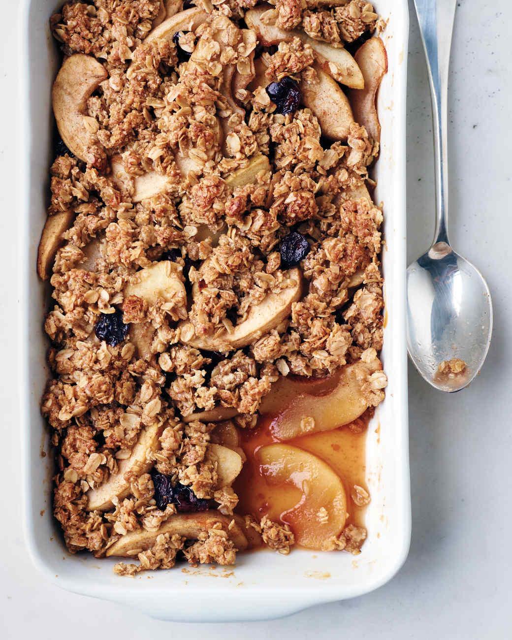Oatmeal Dessert Recipes  Apple Oat Crisp Recipe & Video