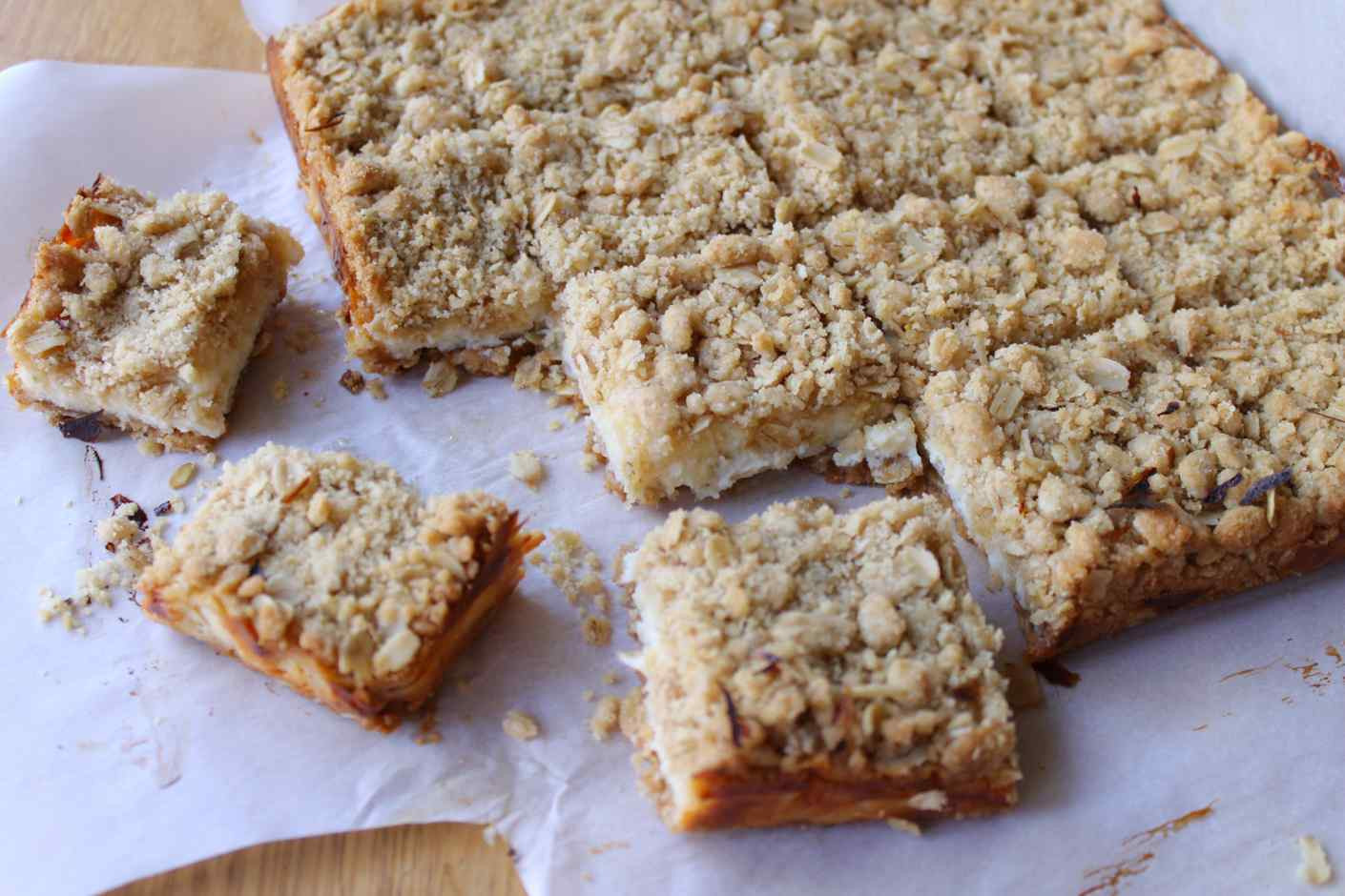 Oatmeal Dessert Recipes  creamy lime oatmeal bars recipe story of a kitchen