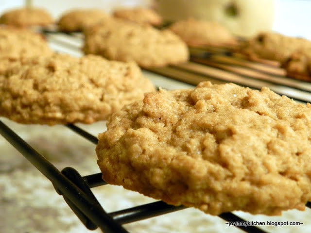 Oatmeal Molassas Cookies  Finding Joy in My Kitchen Soft Oatmeal Molasses Cookies