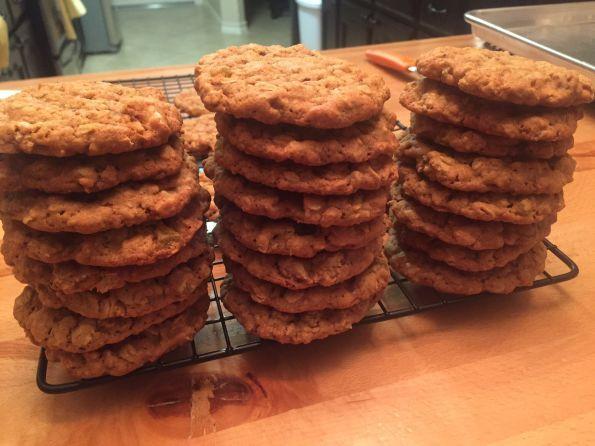 Oatmeal Molassas Cookies  Great Food Blogger Cookie Swap Oatmeal Molasses Cookies