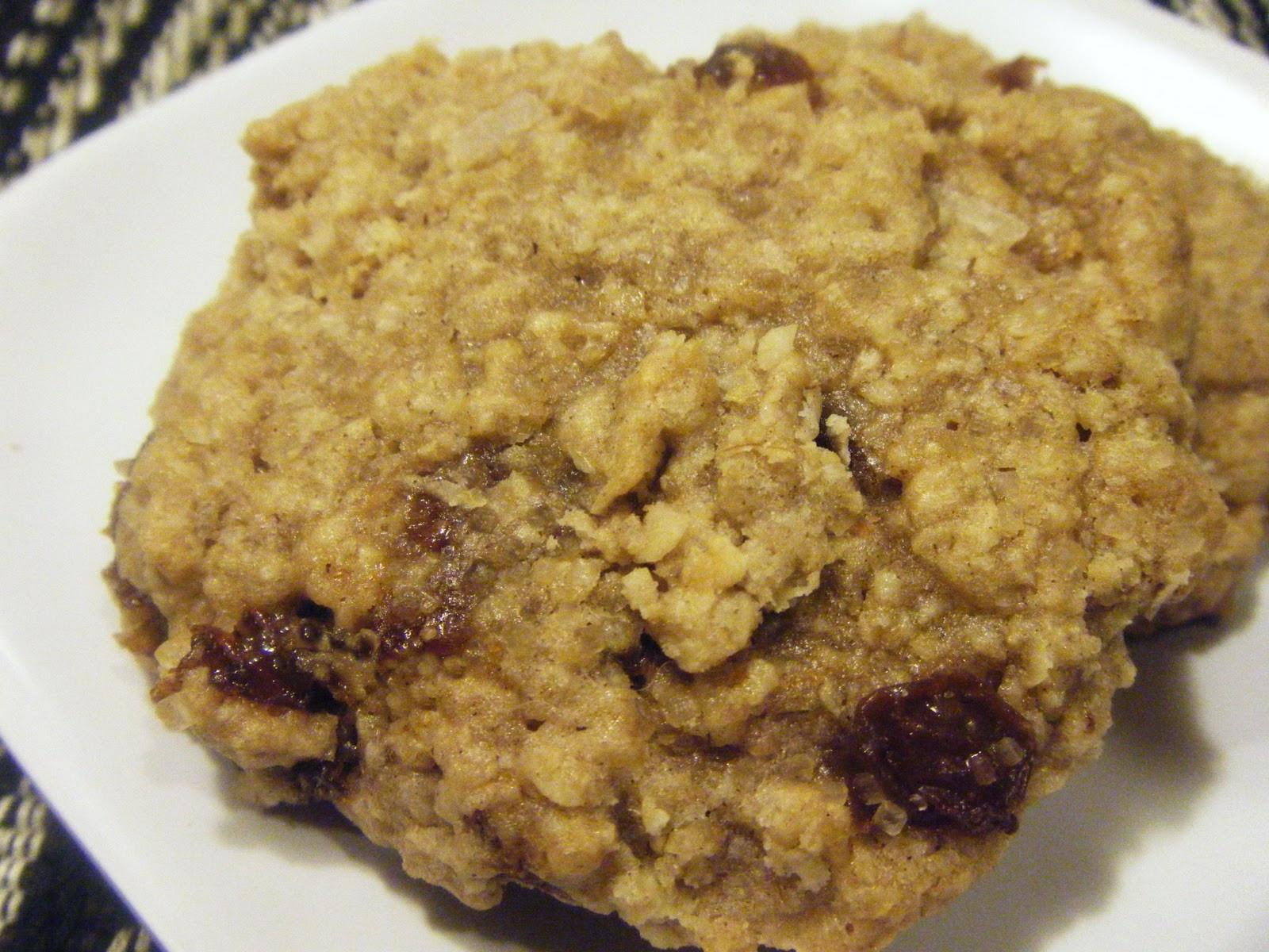 """Oatmeal Molassas Cookies  west side baker Oatmeal """"Orange Molasses"""" Raisin Cookies"""