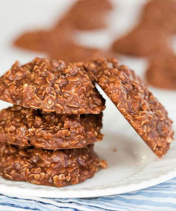 Oatmeal No Bake Cookies  Easy No Bake Cookie Recipe