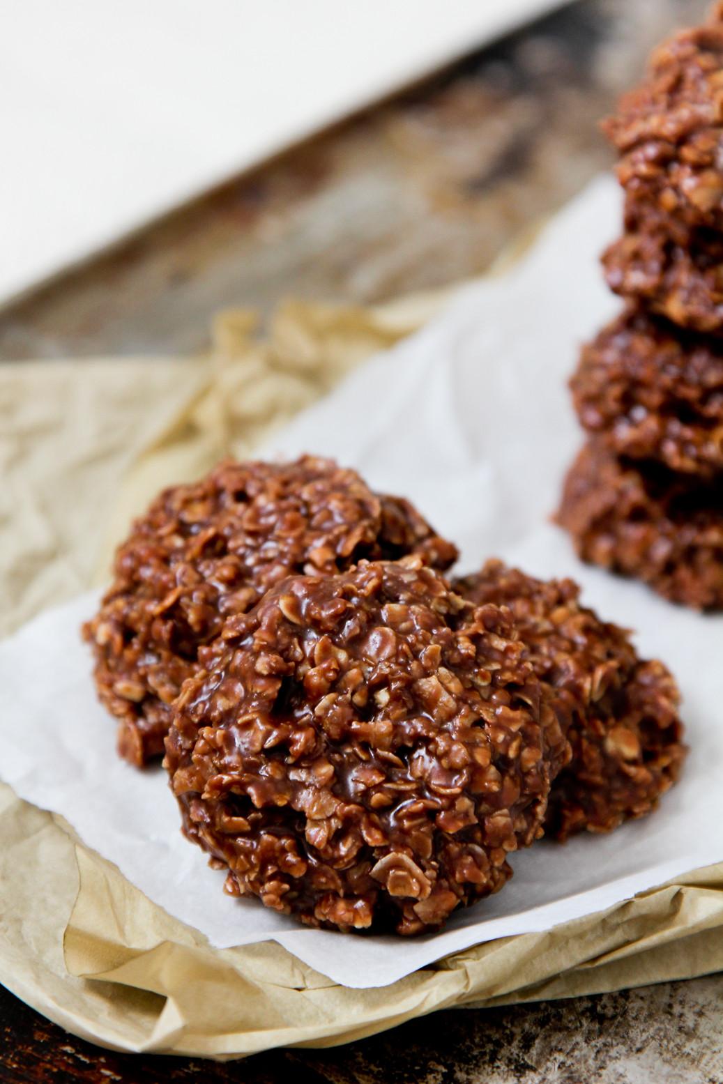 Oatmeal No Bake Cookies  Life Made Simple No Bake PB Chocolate Oatmeal Cookies