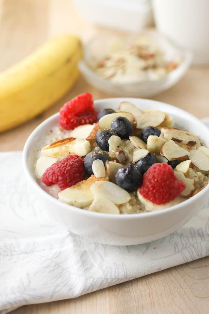 Oatmeal Recipe For Breakfast  Quinoa and Oatmeal Breakfast citronlimette